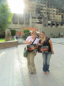 eden and I at the egyptian museum